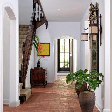European Cottage Entry