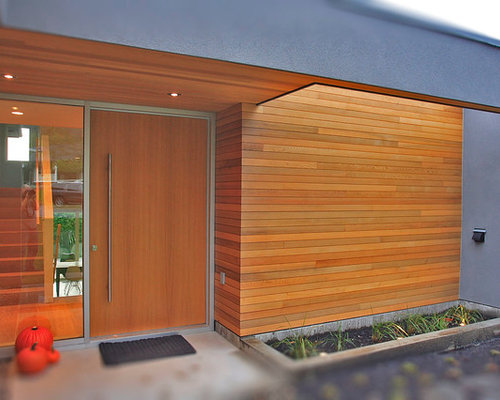 Modern Cedar Siding Home Design Ideas Pictures Remodel