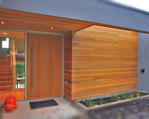 Cedar Exterior Door Prepossessing Cedar Front Door  Houzz Decorating Design