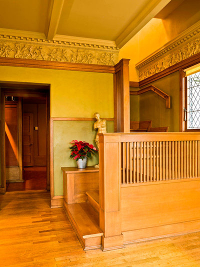 Traditional Entry Experience the Holidays at Frank Lloyd Wright's Home and Studio