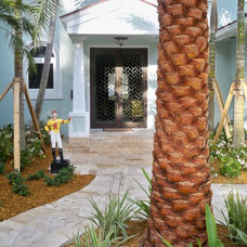 Tropical Entry by DawnElise Interiors