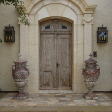 Mediterranean Entry by Bliss Design Firm