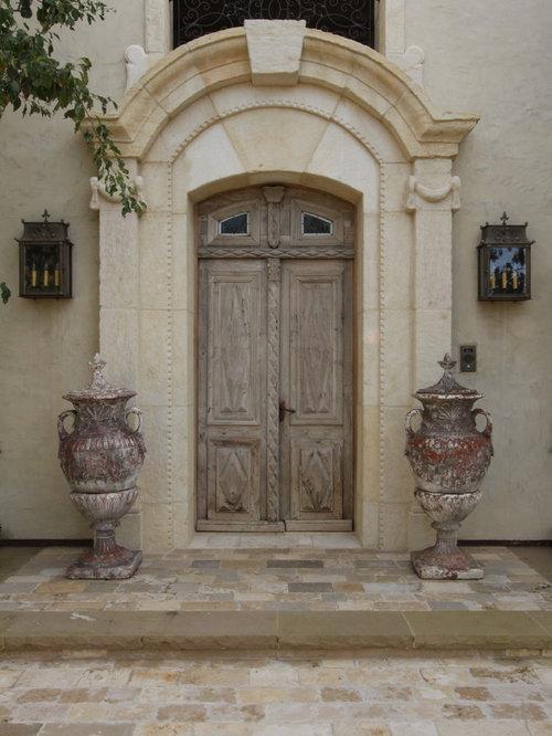 Mediterranean Entryway Design Ideas Renovations Photos
