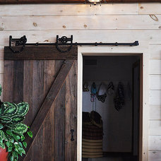 Rustic Entry by Copper Lantern Lighting