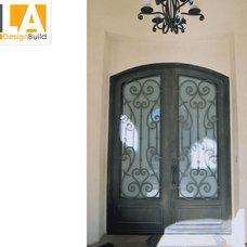 Mediterranean Entry by LA Design Build