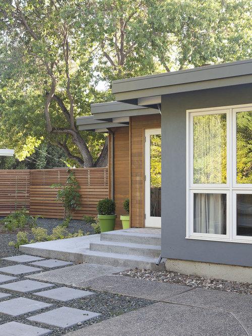 Midcentury Exterior Design Ideas, Remodels & Photos