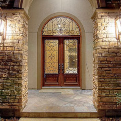 mediterranean entry by Gabay Custom Builders, INC