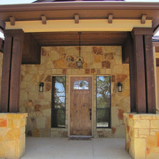 Traditional Entry by River Hills Custom Homes
