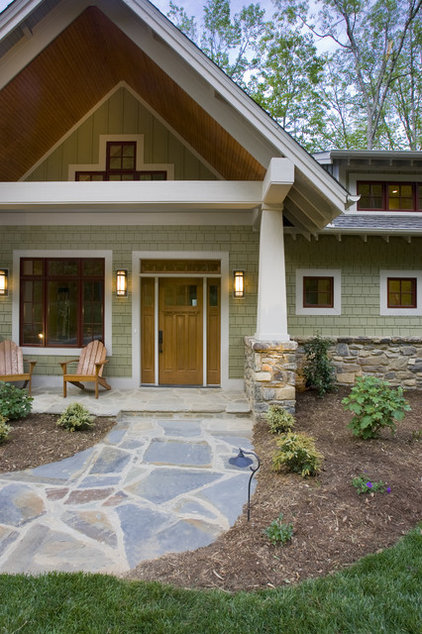 traditional exterior by ACM Design