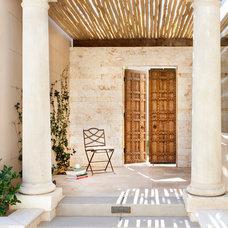 Mediterranean Entry by Willetts Design & Associates