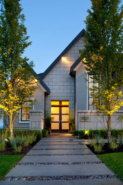 transitional entry by Revival Arts | Architectural Photography