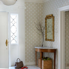 Traditional Entry by Elena Phillips Interiors