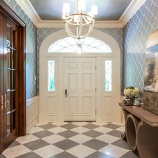 Transitional Entry by Traci Connell Interiors