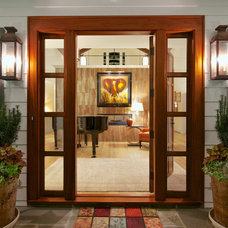 Traditional Entry by June DeLugas Interiors