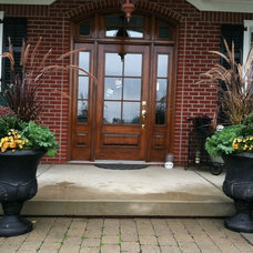 Traditional Entry by The Windowbox Gardener