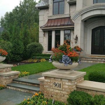 Fall Flower Containers & Annual Display