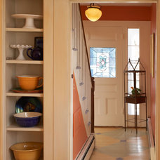 Farmhouse Entry by Lisa Teague Design Studios