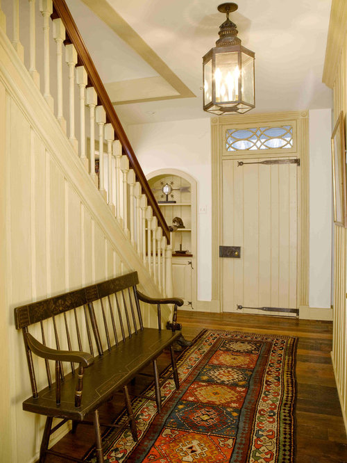 Farmhouse Foyer : Farmhouse foyer ideas pictures remodel and decor