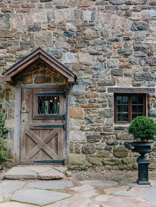 Stone Front House stone front door | houzz