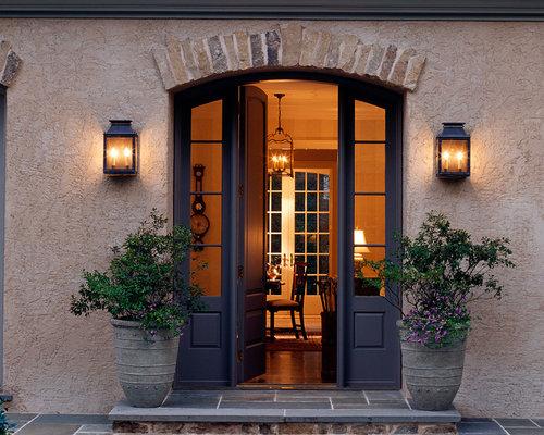 landhausstil eingang mit haust r hauseingang. Black Bedroom Furniture Sets. Home Design Ideas