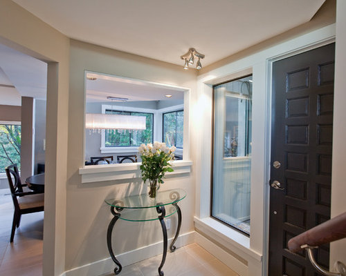 Flat stock trim with backband ideas pictures remodel and for Modern interior window trim