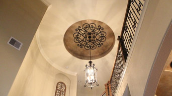 Faux Wrought Iron Ceiling Treatments