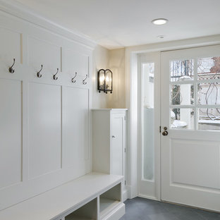 Elegant mudroom photo in Salt Lake City