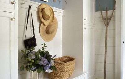 The Cure for Houzz Envy: Mudroom Touches Anyone Can Do