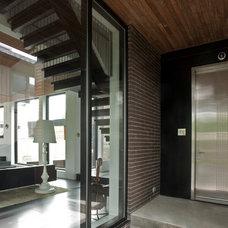 Modern Entry by Davignon Martin Architecture