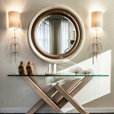 Contemporary Entry by HUXHUX Design LLC