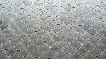 Fish Scale Tile Installation