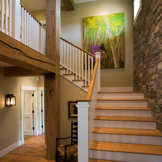 traditional entry by roth sheppard architects