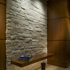 Contemporary Entry by 186 Lighting Design Group - Gregg Mackell
