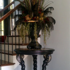 Traditional Entry by Norwood Interior Designs