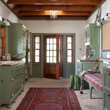 Traditional Entry by Ashley Campbell Interior Design