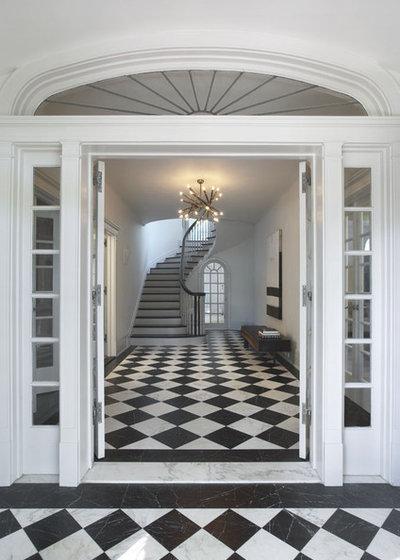Contemporaneo Ingresso by Robert Kaner Interior Design