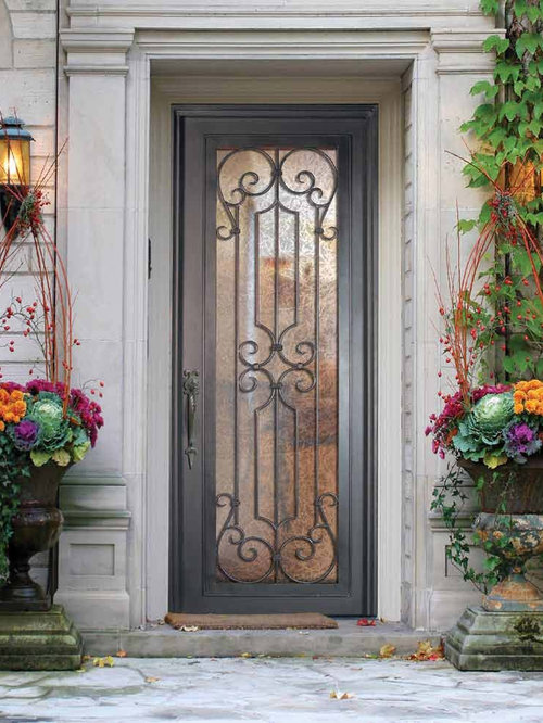 Forged Iron Doors : Forged iron doors