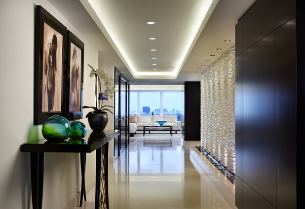 Contemporary Entry by Architect, T.A. Krebs