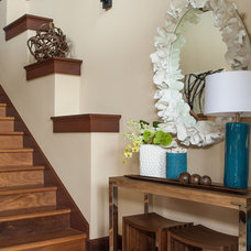 Eclectic Entry by Henderson Design Group