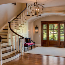 Traditional Entry by Porter Construction