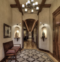 traditional entry by Aneka Interiors Inc.