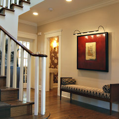 traditional entry by Bruce Johnson & Associates Interior Design