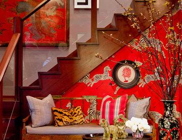 Foyer: Bryant Keller Interiors