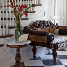 Traditional Entry by Ck Interior Design
