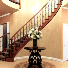 Traditional Entry by David Schaf Interiors, LLC