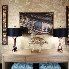 Traditional Entry by Deborah Houston Interiors