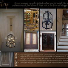Traditional Entry by Creative Cabinets and Faux Finishes. LLC