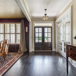 Foyer/Entry with view of Dining Room and Home Office