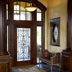 traditional entry by Gabberts Design Studio