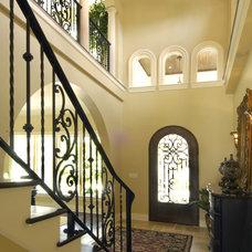 Mediterranean Entry by Gritton & Associates Architects